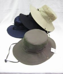 24 Units of Adult Mesh Fisher Bucket Hat - Bucket Hats