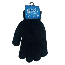 24 Units of Ladies Magic Gloves [Black Only] - Ski Gloves