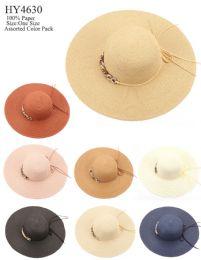 24 Units of Women Fashion Large Brim Sun Hat - Sun Hats