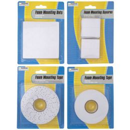 48 Units of Tape Foam Mounting Double Stick - Tape & Tape Dispensers