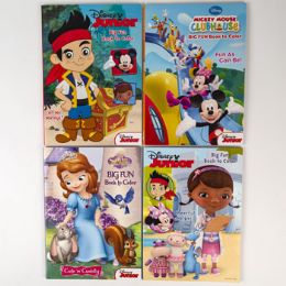 20 Units of Coloring Book Disney Jr 96 Pages 4 Asst - Coloring & Activity Books