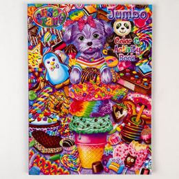 24 Units of Coloring Book Lisa Frank Jumbo 96 Pages - Coloring & Activity Books