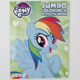 24 Units of Coloring Book My Little Pony Jumbo Rainbow Dash 24 Pc - Coloring & Activity Books