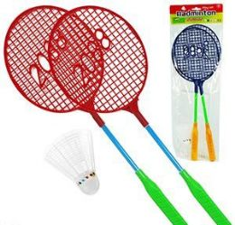 48 Units of 3 Piece Badminton Sets - Summer Toys