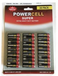 48 Units of Powercell 30PK AA Battery - Batteries