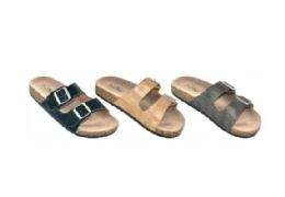 36 Units of Women's Two buckle Sandals - Women's Sandals