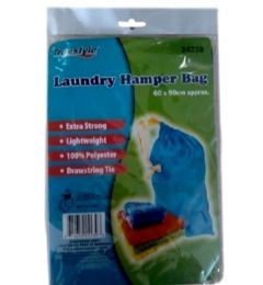 48 Units of LAUNDRY HAMPER BAG 60X90CM - Laundry Baskets & Hampers