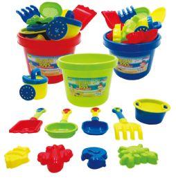 18 Units of SAND BUCKET PLAY SET - Beach Toys