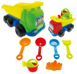 24 Units of SAND TRUCK PLAY SET - Beach Toys