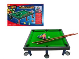 18 Units of LARGE BILLIARDS PLAY SET - Toy Sets