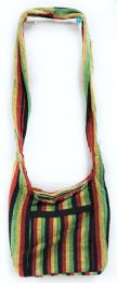 5 Units of Nepal Hobo Bags Cotton Rasta Color - Handbags
