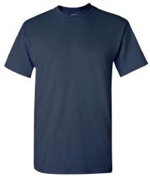 24 Units of Men's First Quality Gildan Navy T Shirts - Mens T-Shirts