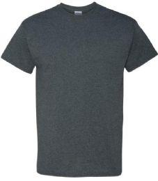 24 Units of Men's Gildan First Quality Cotton Dark Healther Medium T Shirts - Mens T-Shirts