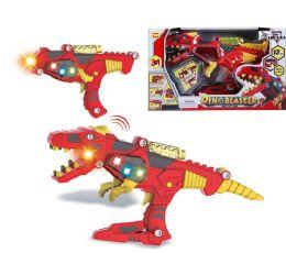 "18 Units of B/O DINOSAUR SPACE GUN W/LIGHT & SOUND 17"" - Light Up Toys"