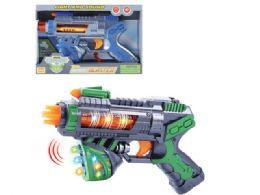 "48 Units of B/O VIBRATE GUN W/LIGHT & SOUND (BATT.INCL.) 10"" - Light Up Toys"