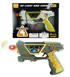 """48 Units of VIBRATE GUN W/3D LIGHT & SOUND (BATT.INCL.) 9"""" - Light Up Toys"""
