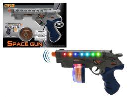 "60 Units of B/O REVOLVER GUN W/LIGHT & SOUND 9"" - Light Up Toys"