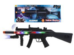 "12 Units of B/O COMBAT VIBRATE GUN W/LIGHT & SOUND (BATT.INCL.) 28"" - Toy Sets"