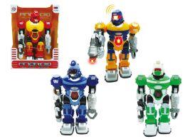 "24 Units of B/O ROBOT W/LIGHT & SOUND 10"" - Light Up Toys"