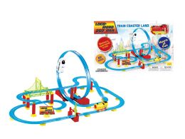 18 Units of B/O TRAIN COASTER LAND (2 ASSTD.) - Cars, Planes, Trains & Bikes
