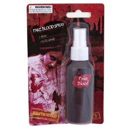 48 Units of Fake Blood Spray Red - Halloween & Thanksgiving