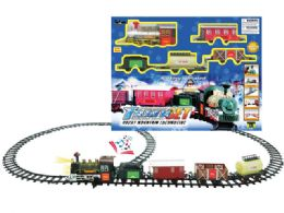 18 Units of B/O TRAIN SET W/LIGHT & SOUND - Light Up Toys