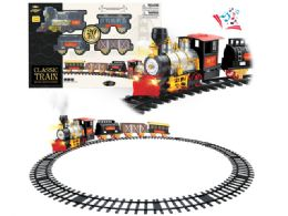 6 Units of B/O CLASSIC TRAIN SET W/LIGHT, SOUND & SMOKE - Light Up Toys