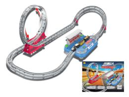 8 Units of B/O MEGA ROLLER COASTER WITH SOUND (2 ASSTD.) - Cars, Planes, Trains & Bikes