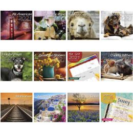 72 Units of Calendar Wall 16 Month 2021 - Halloween & Thanksgiving