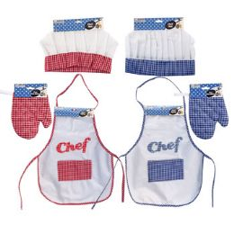 36 Units of Chef Jr Apron/hat/oven Mitt Dress up - Halloween & Thanksgiving