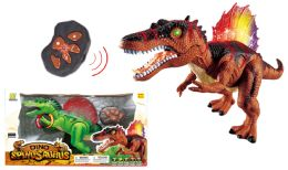 "8 Units of R/c Jumbo Spinosaurus W/light & Sound (batt. Incl.) 20"" - Light Up Toys"