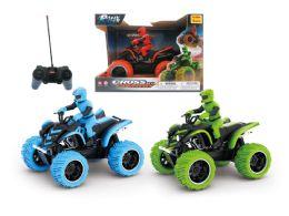 12 Units of R/C JUMBO MONSTER ATV W/RIDER - Light Up Toys