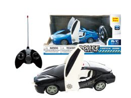 "24 Units of R/C CONCEPT POLICE CAR (DOOR OPEN & CLOSE) 9"" - Cars, Planes, Trains & Bikes"