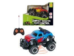 "48 Units of R/C COMPACT MONSTER TRUCK W/LIGHT 5.5"" - Cars, Planes, Trains & Bikes"