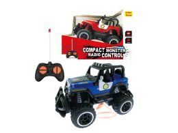"48 Units of R/C COMPACT POLICE TRUCK W/LIGHT 5.5"" - Cars, Planes, Trains & Bikes"