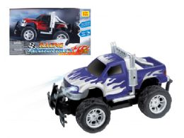 "12 Units of R/C MONSTER PICKUP TRUCK W/LIGHT 10"" - Cars, Planes, Trains & Bikes"