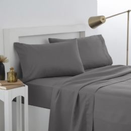 12 Units of Martex Twin Fitted Sheet In Grey - Sheet Sets