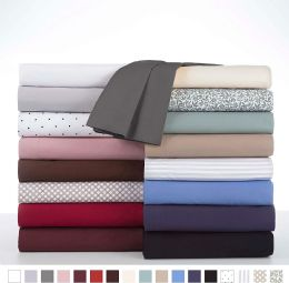 12 Units of Martex Twin Fitted Sheet In Burgandy - Sheet Sets
