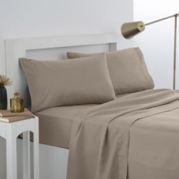 12 Units of Martex Twin Fitted Sheet In Khaki - Sheet Sets
