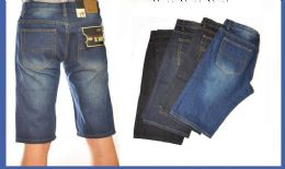12 Units of Men's Denim Shorts In Black - Mens Jeans