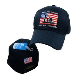 24 Units of Stand for the Flag/Kneel for the Cross Hat - Baseball Caps & Snap Backs