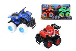 "24 Units of FRICTION TRUCK AND ATV (2 PCS SET) 5"" - Cars, Planes, Trains & Bikes"