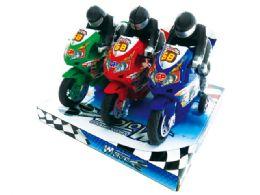 "36 Units of FRICTION MOTORCYCLE (3 PCS SET ) 7"" - Cars, Planes, Trains & Bikes"