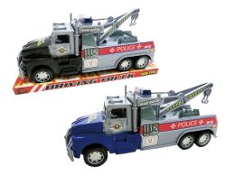 """48 Units of FRICTION POLICE TOWING TRUCK 11"""" - Cars, Planes, Trains & Bikes"""