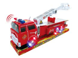 "36 Units of FRICTION FIRE RESCUE W/LIGHT & SOUND (BATT.INCL.) 14"" - Cars, Planes, Trains & Bikes"
