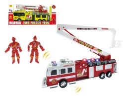"16 Units of FRICTION FIRE RESCUE W/LIGHT & SOUND (BATT.INCL.) 17"" - Cars, Planes, Trains & Bikes"