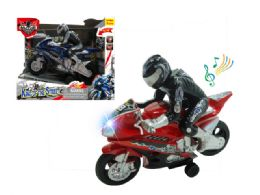 """36 Units of FRICTION MOTORCYCLE W/LIGHT & SOUND (BATT.INCL.) 8.5"""" - Cars, Planes, Trains & Bikes"""