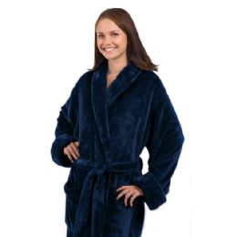 3 Units of Tahoe Fleece Shawl Collar Robe - Bath Robes