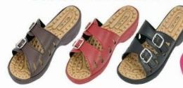 36 Units of Womens Casual Buckle Straps Sandals Flip Flop Platform Footbed - Women's Sandals