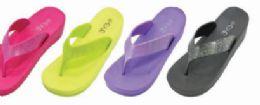 48 Units of Womens Comfy Sandals Comfort Slip On Summers Sandals - Women's Sandals